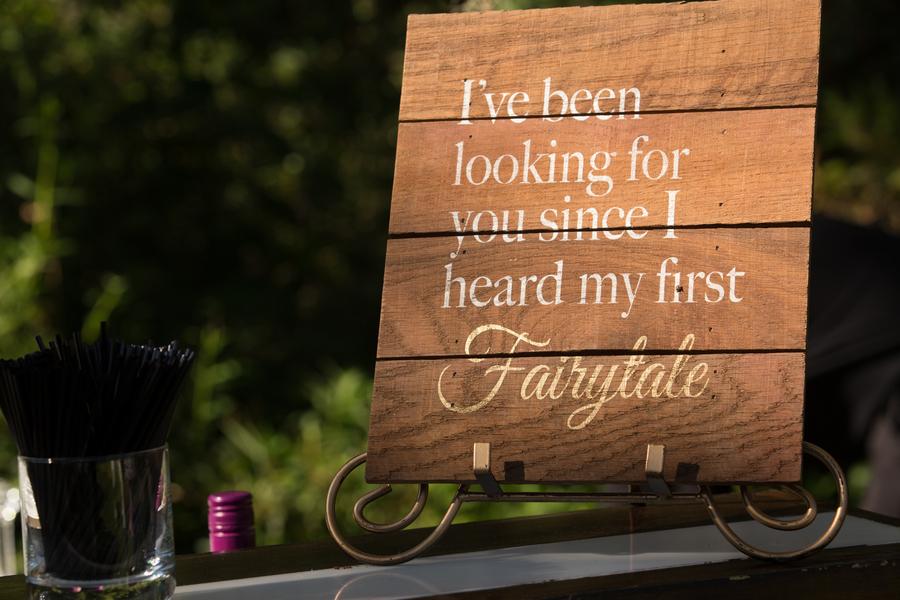 Magnolia Plantation and Gardens wedding sign