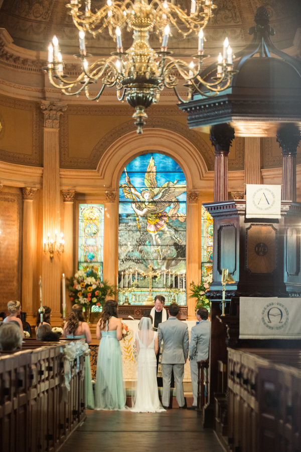 Charleston Wedding at St. Michael's Episcopal Church