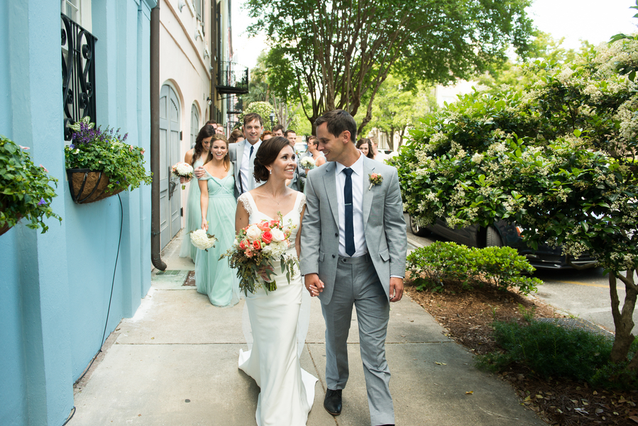 Kelly Moeller and Jason Ezzell's Charleston wedding