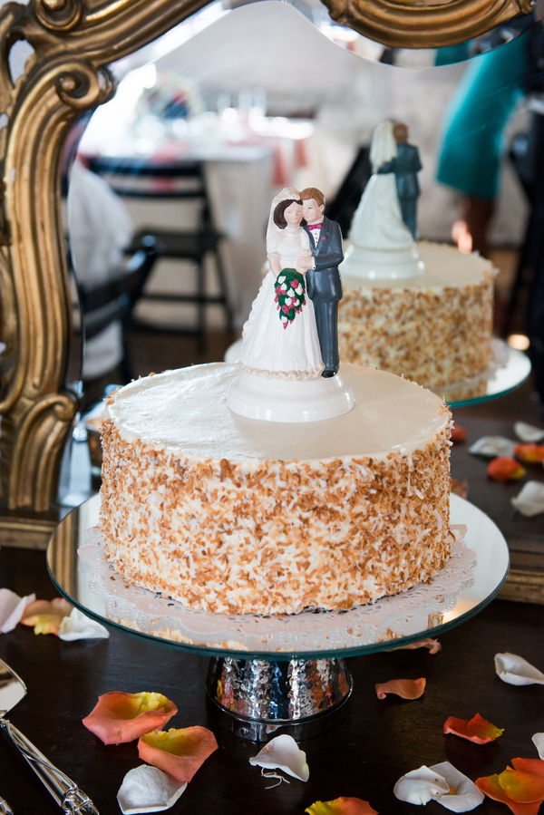 The Ultimate Coconut Cake from Peninsula Grill at Charleston wedding