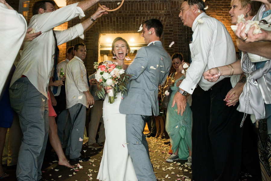 Jason + Kelly's Rice Mill Building Wedding in Charleston, SC