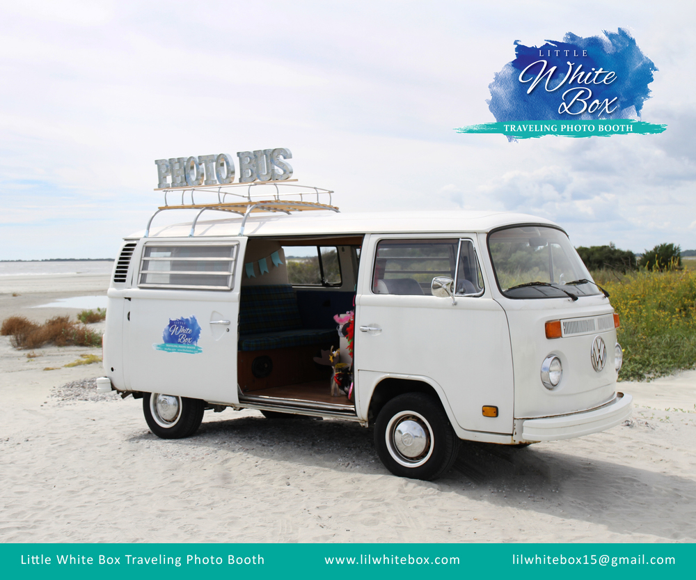 Charleston Wedding Photo Booth - Lil White Box Traveling Photo Booth