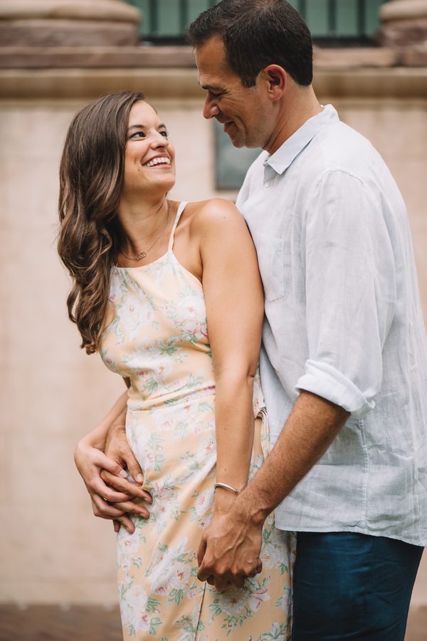 David + Meghan's College of Charleston Engagement