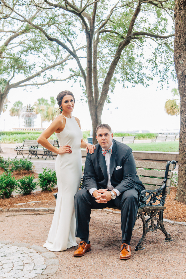 Charleston Wedding Anniversary Shoot at Waterfront Park