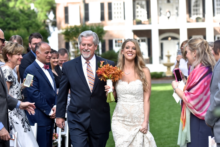 Tori + David's Orange Ford Plantation wedding in Savannah, GA by Donna Von Bruening