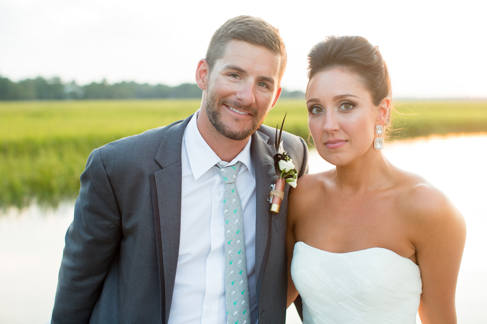 Erica + Jay's Creek Club at I'On wedding in Charleston, SC by MOD Events