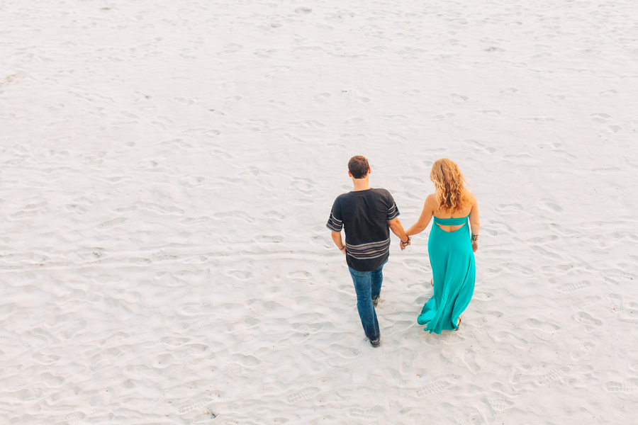Folly Beach Wedding Engagement by Riverland Studios