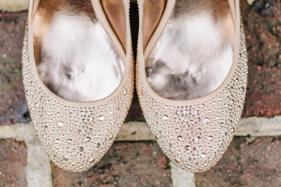Pepper Plantation Wedding shoes in Charleston, SC by Riverland Studios