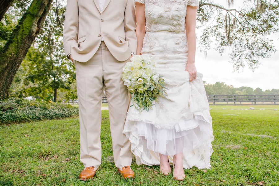 Rustic Charleston wedding at Pepper Plantation