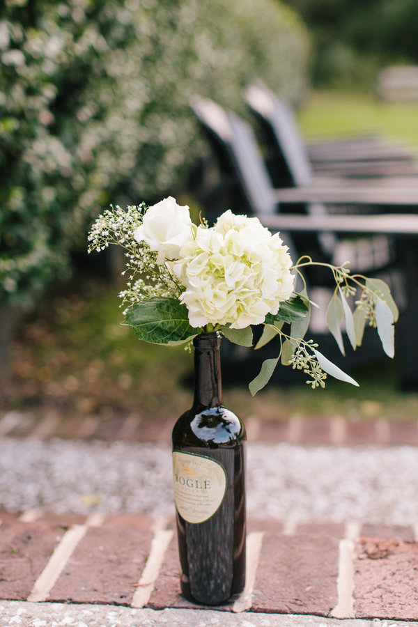 Rustic Charleston wedding ceremnony at Pepper Plantation