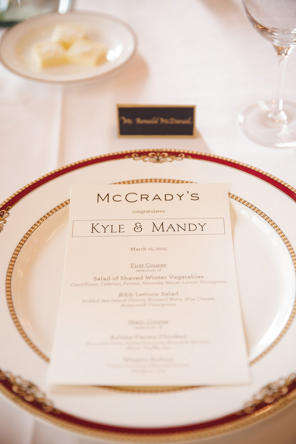 McCrady's Restaurant in Charleston, SC by amelia + dan photography