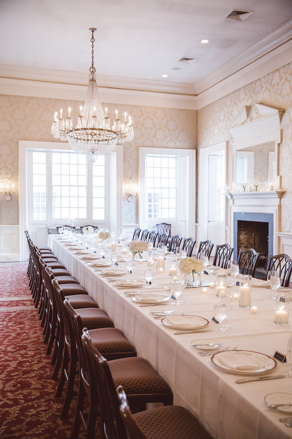McCrady's Restaurant wedding in the Historic Long Room