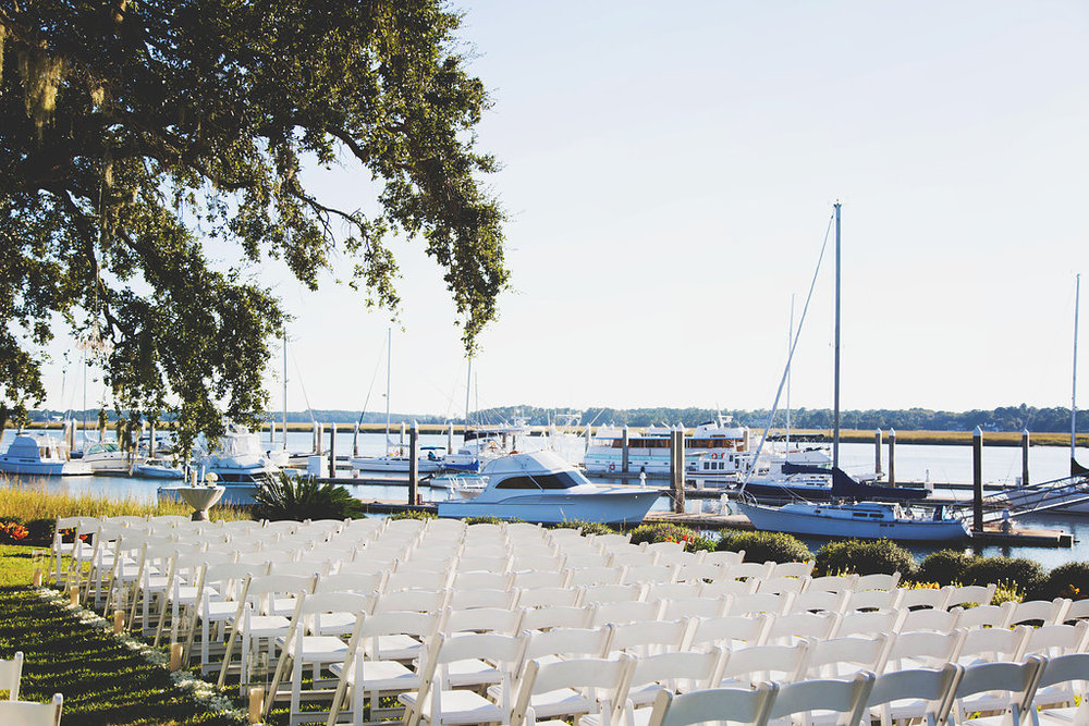 Savannah Yacht Club Wedding by Posh Petals & Pearls