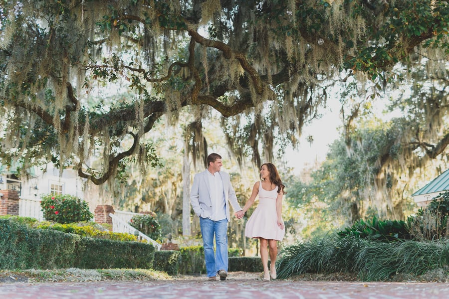 Myrtle Beach Wedding Engagement at Heritage Plantation