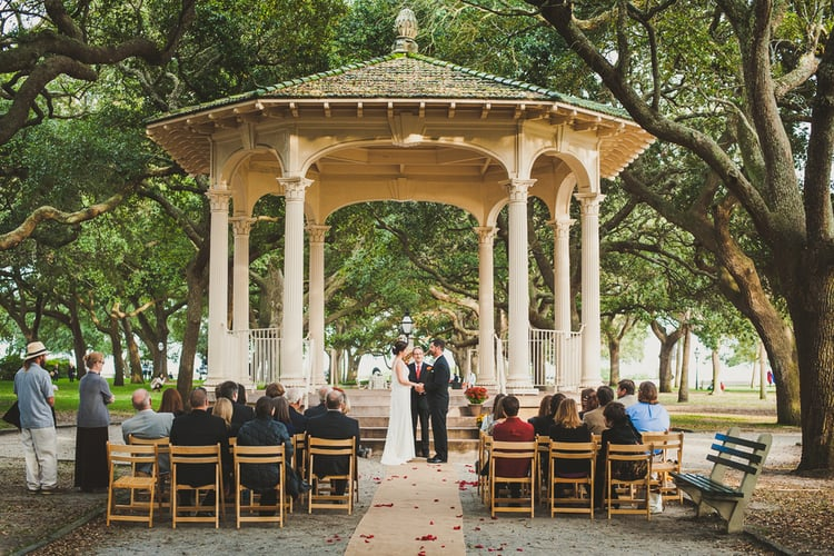 best wedding ceremony locations of 2015 charleston savannah hilton head and myrtle beach