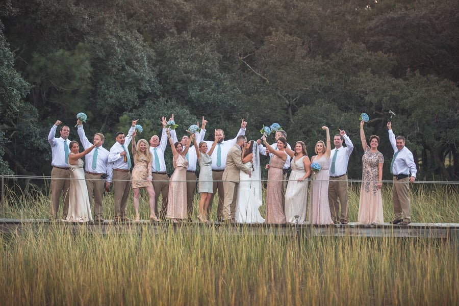 Rob + Jessica's Charleston wedding by Chancey Charm and Richard Bell Photography
