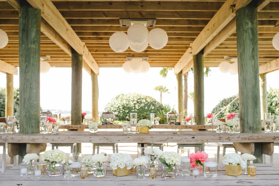 Charleston Pelican Watch Shelter wedding on Folly Beach by Priscilla Thomas Photography