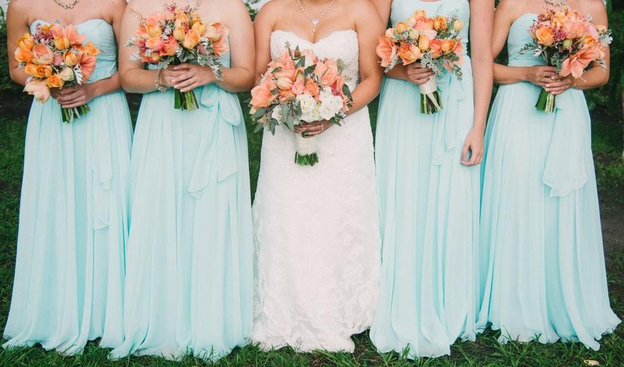 Best Bridesmaids Dresses of 2015 - Hilton Head, Myrtle Beach, Savannah and Charleston weddings