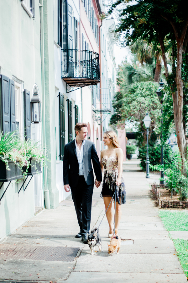 Romantic Charleston Engagement by Judy Nunez Photography