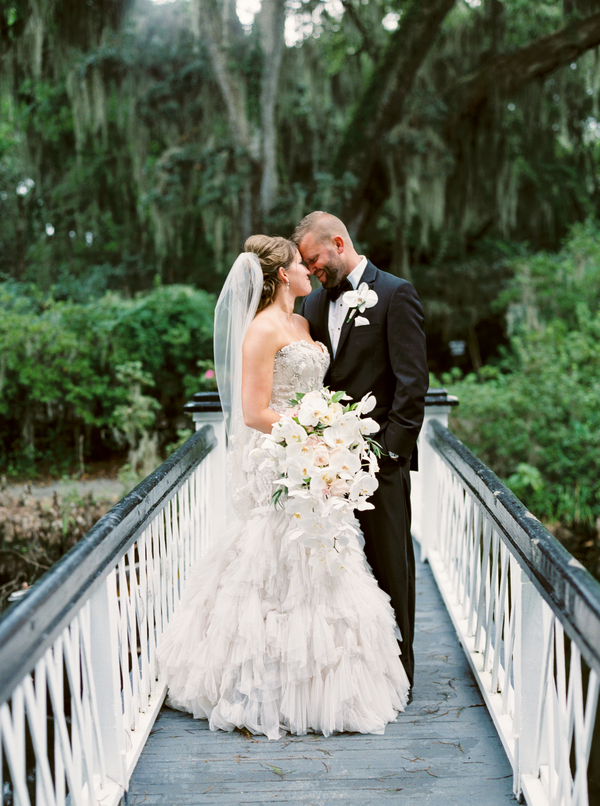 Charleston Magnolia Plantation and Gardens Wedding by JoPhoto
