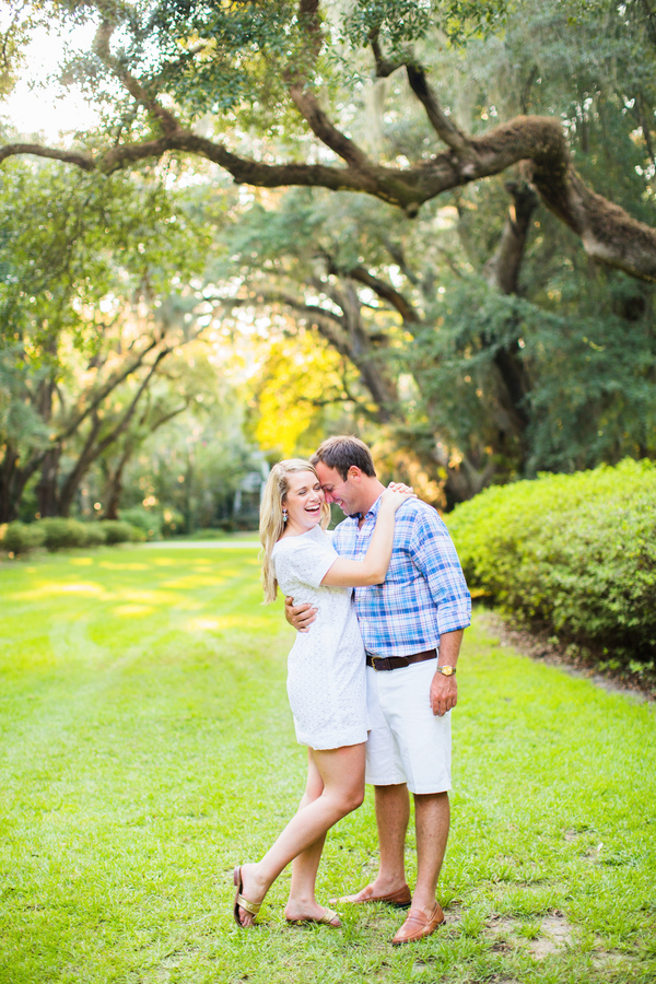 Paige + Tyler's Wachesaw Plantation engagement by Magnolia Photography