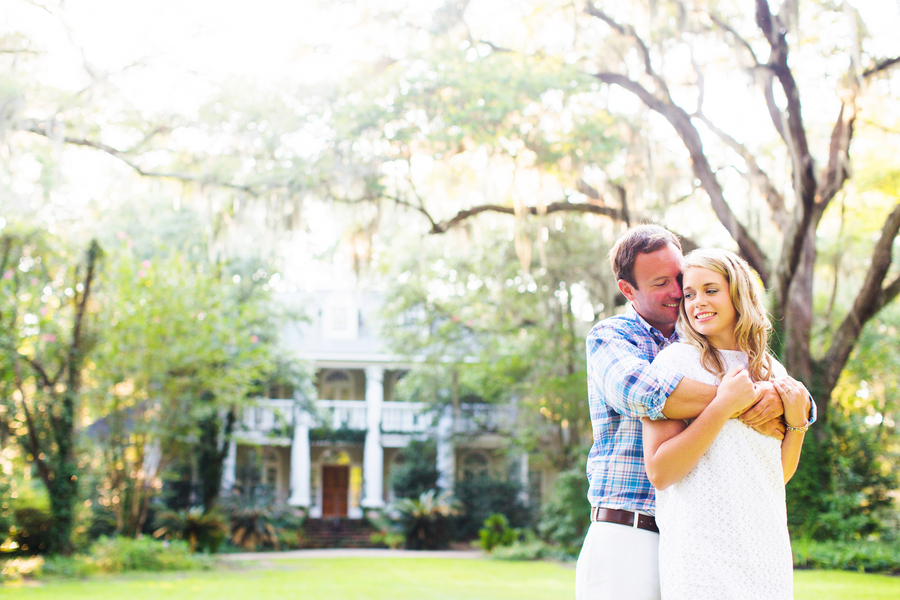 Paige + Tyler's Wachesaw Plantation engagement in Murrells Inlet, SC by Magnolia Photography