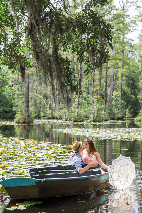 Cypress Gardens Engagement Session