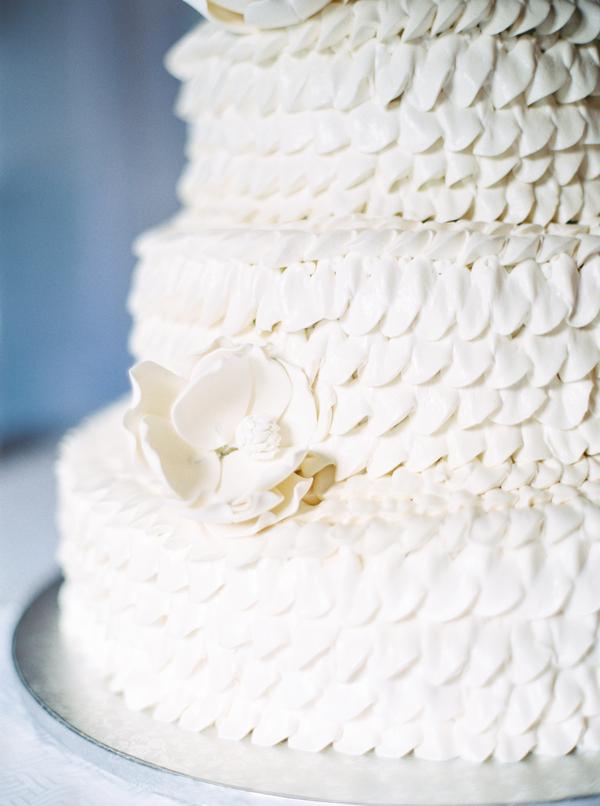 Cake  from Magnolia Plantation wedding in Charleston, SC by JoPhoto