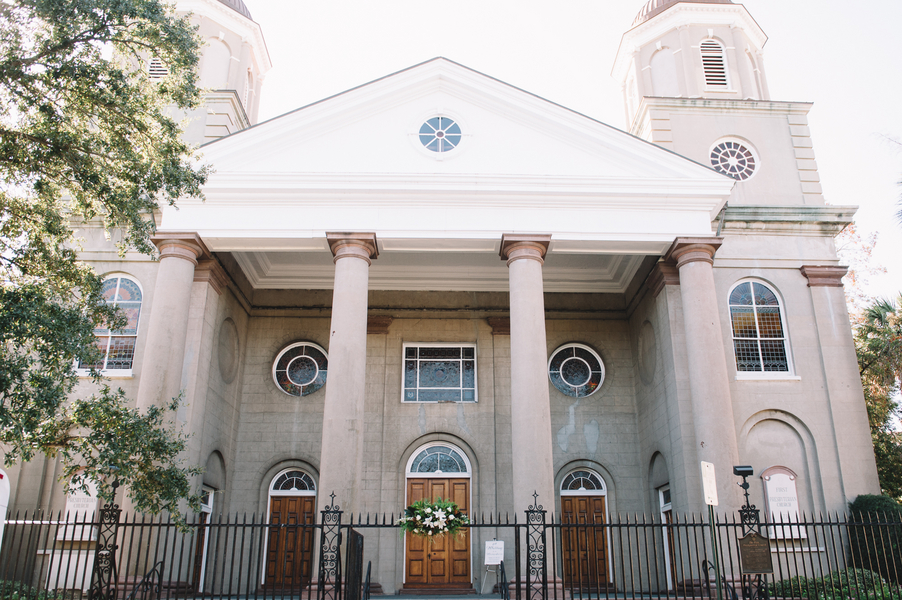 First Presbyterian Church wedding in Charleston, SC by Jennings King Photography