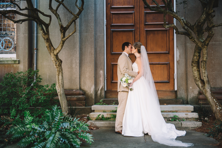 Charleston Wedding at First Presbyterian Church + Wingate Plantation