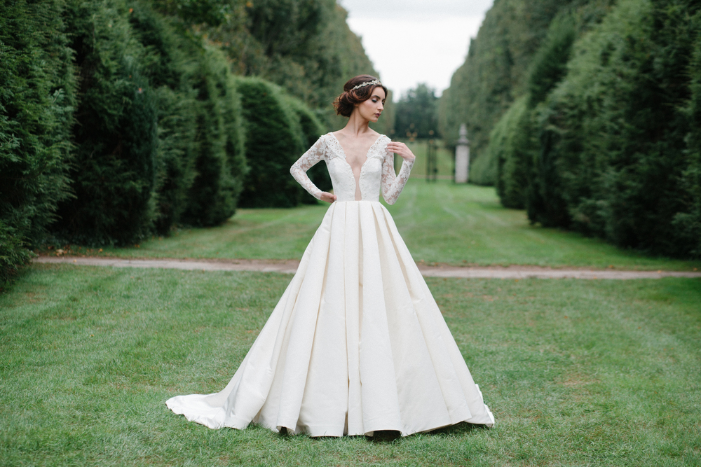 Wedding Dress Designer Sareh Nouri Fall 2016 Collection A
