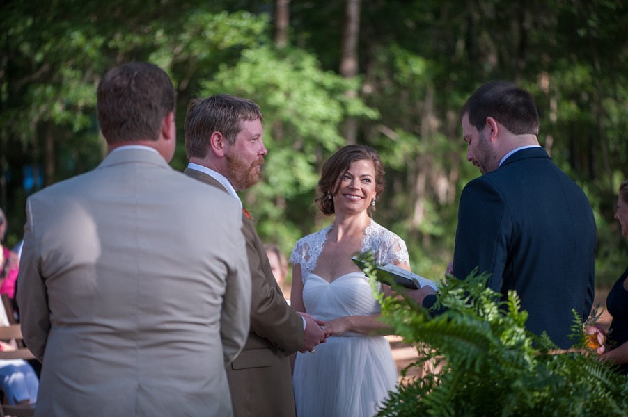 Wadmalaw Island, SC wedding by Molly Joseph Photography