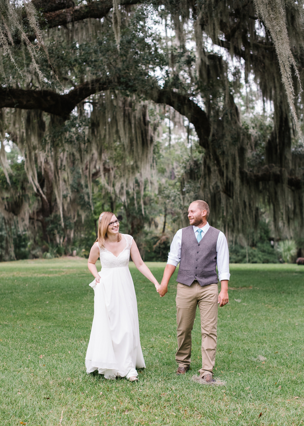 Colleton Point at Rose Hill Plantation wedding elopement