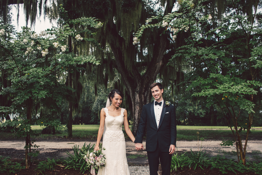 Jennifer + Zach's Savannah wedding at The Whitfield Chapel by Krista Turner Photography