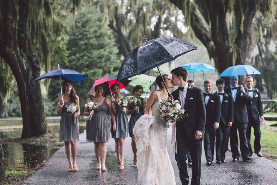 Jennifer + Zach's Savannah wedding at The Olde Pink House by Krista Turner Photography