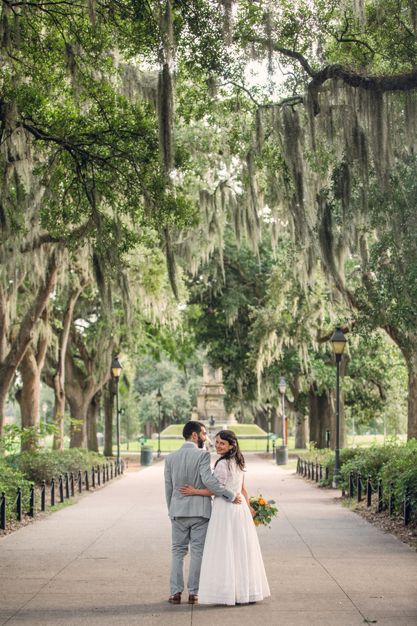Grace + John's Savannah Wedding by Alexis Sweet Photography