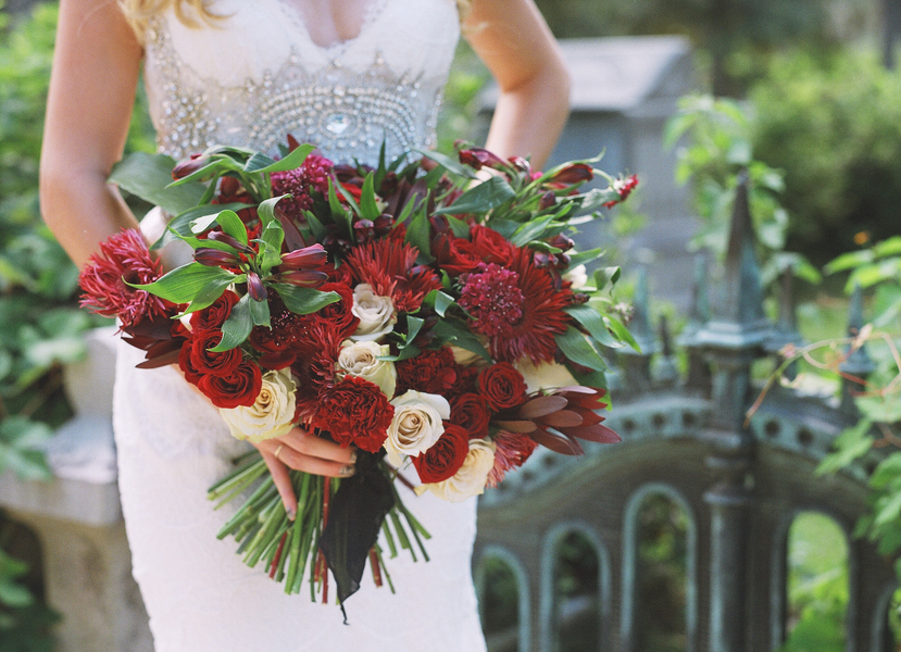 Haunted Elegance - Savannah Wedding Inspiration by Ivory + Beau
