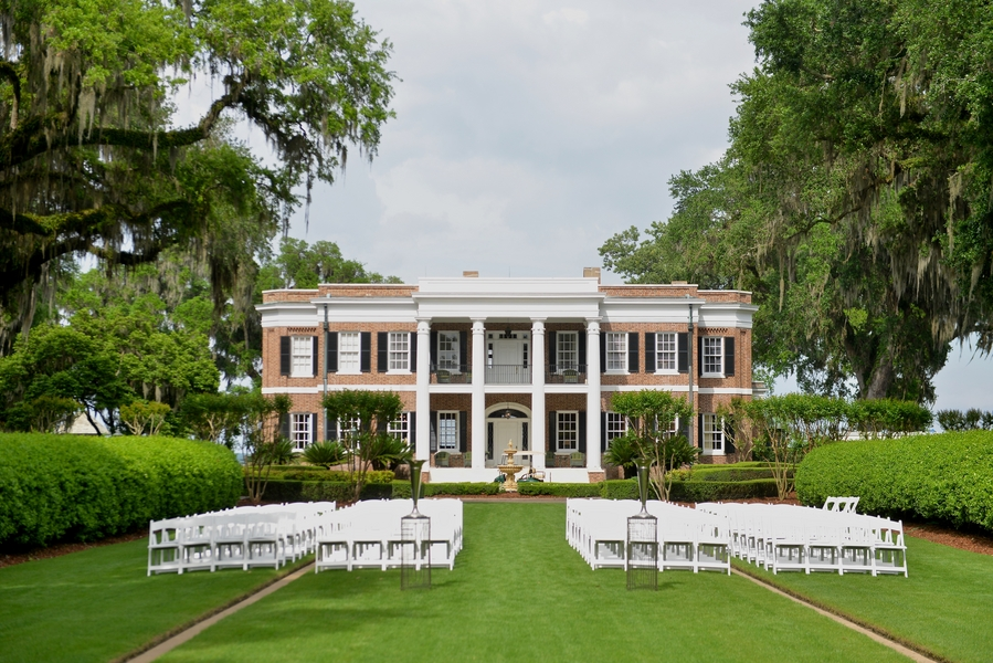 Tori + David's  Ford Plantation wedding  by Donna Von Bruening