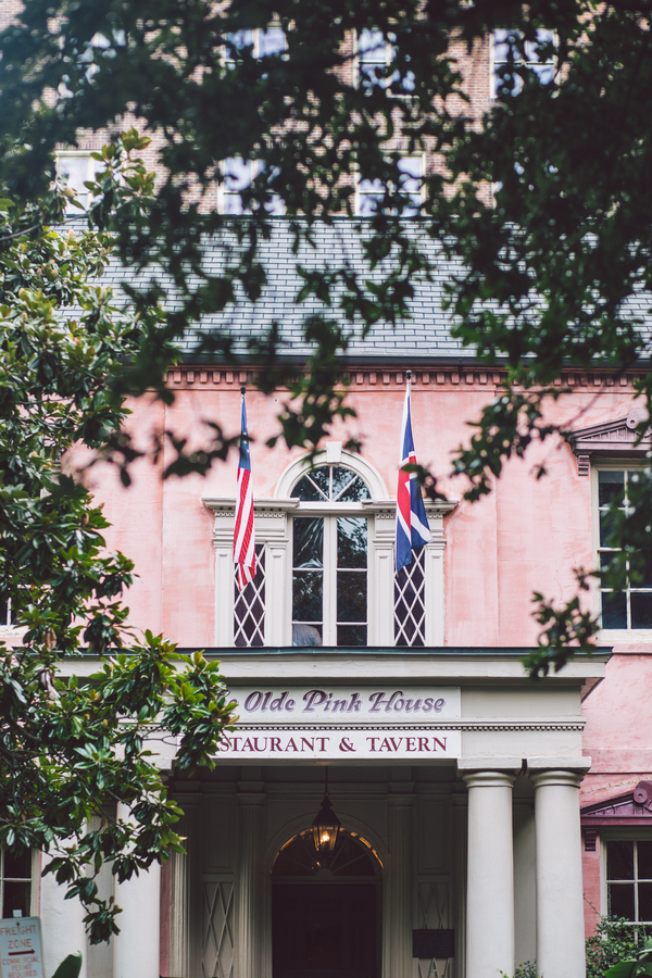Jennifer + Zach's Olde PInk House wedding