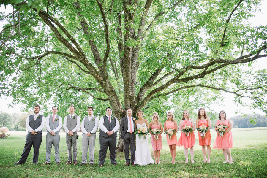 South Carolina wedding at Sardis Baptist Church