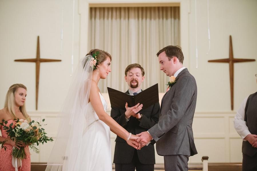 South Carolina wedding at Sardis Baptist Church