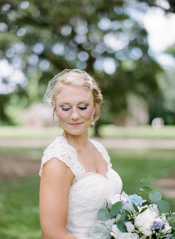 Charleston Bridal Portraits at Boone Hall Plantation
