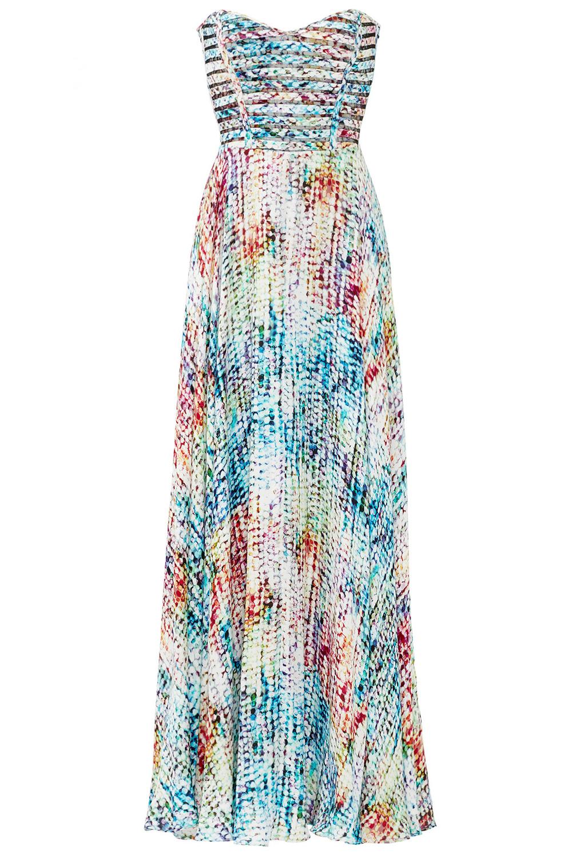 Parker Rainbow Maxi Dress - Spring Summer Wedding Reception Attire - Rent The Runway