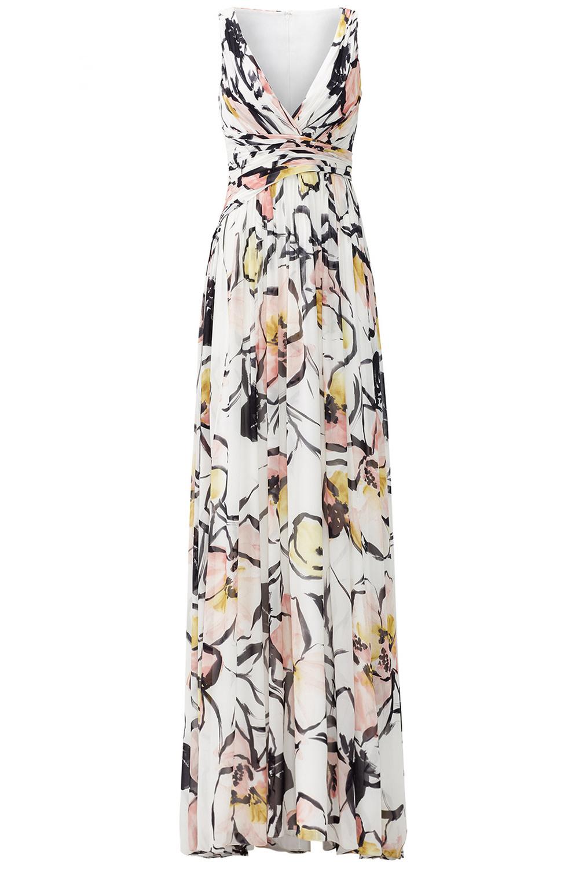 Badgley Mischka Soft Petal Maxi Dress on Rent The Runway Wedding