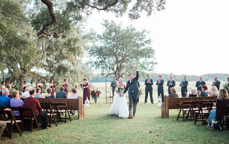 Cypress Trees Plantation wedding on Edisto Island, South Carolinia