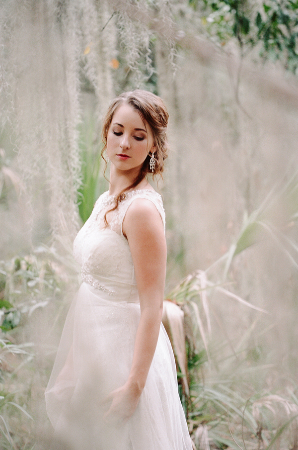 Savannah Wedding Portraits at Wormsloe Historic State