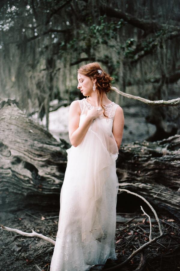 Savannah Wedding Portraits at Wormsloe Historic State