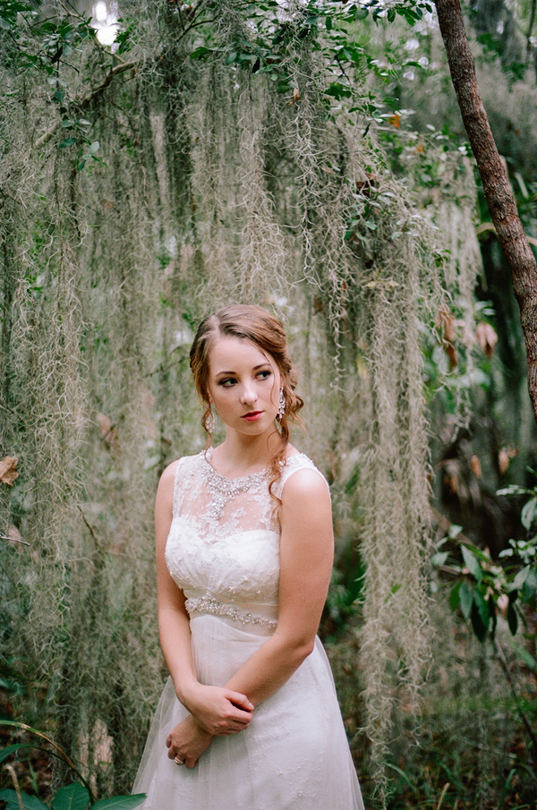 Wormsloe Historic State Wedding Portraits in Savannah, Georgia