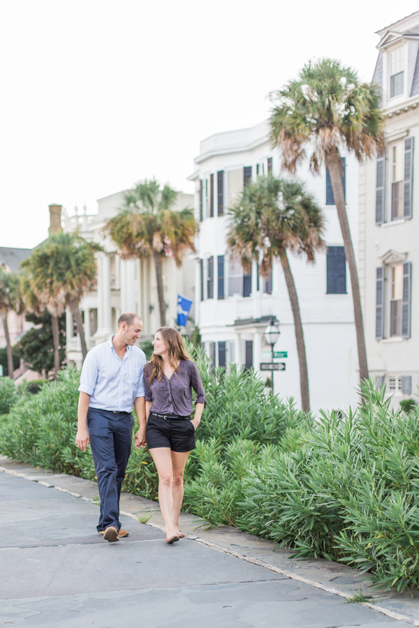 Charleston wedding engagement on Johns Island, SC by The Click Chick Photography