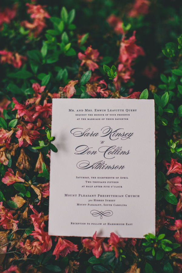 Collins + Kinsey's Charleston wedding at Harborside East